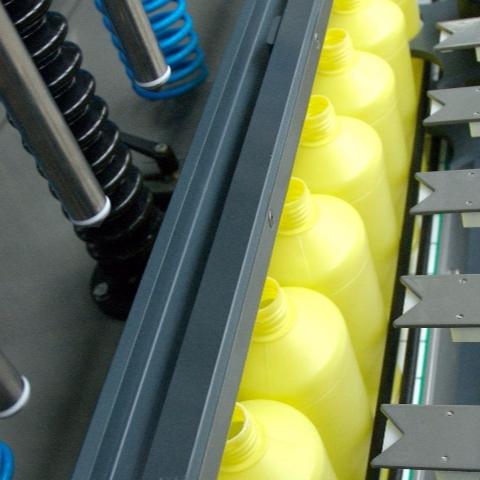 Fluminis filling machine detail