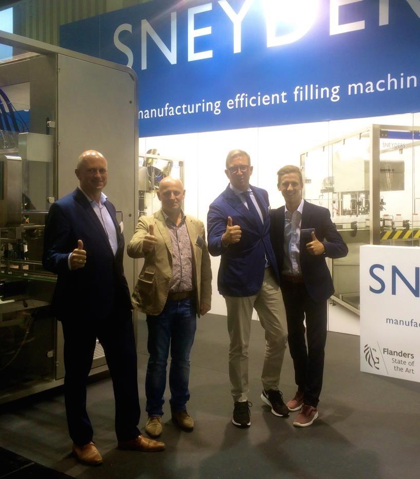 Sneyders at Fachpack show in Nürnberg